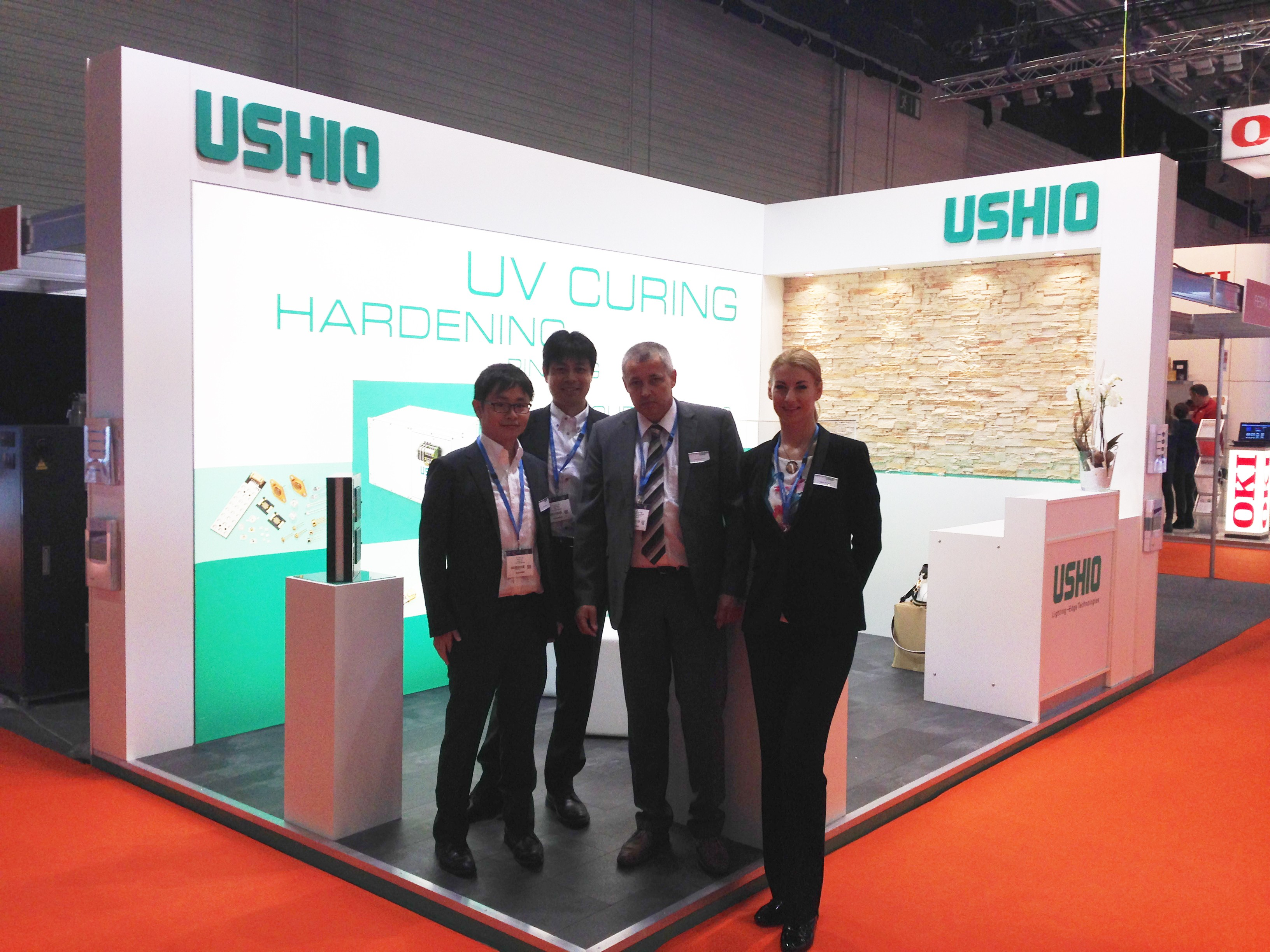 USHIO present on the FESPA in Cologne Germany