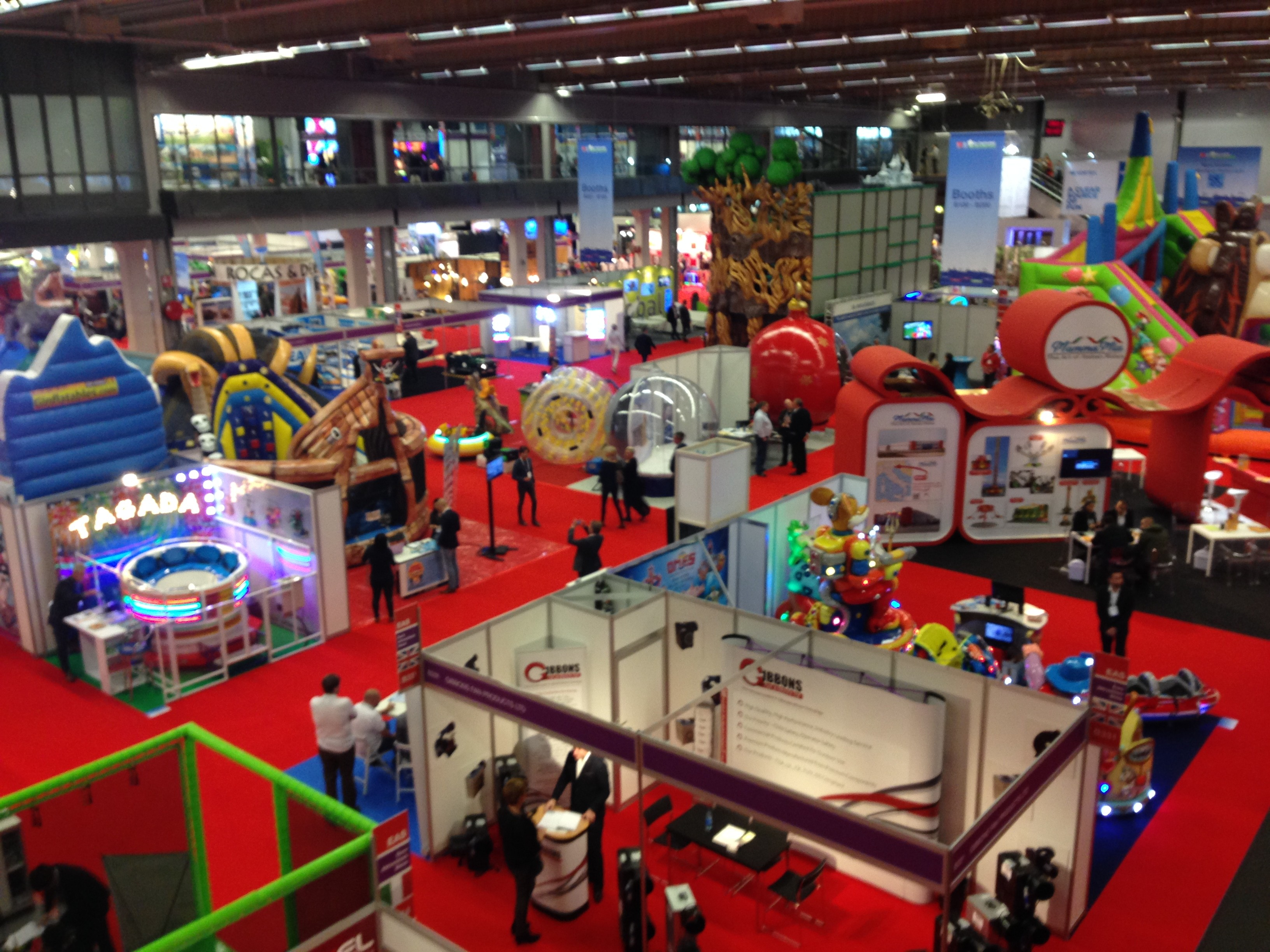 USHIO entering the attraction park business at EAS  in Gothenburg Sweden