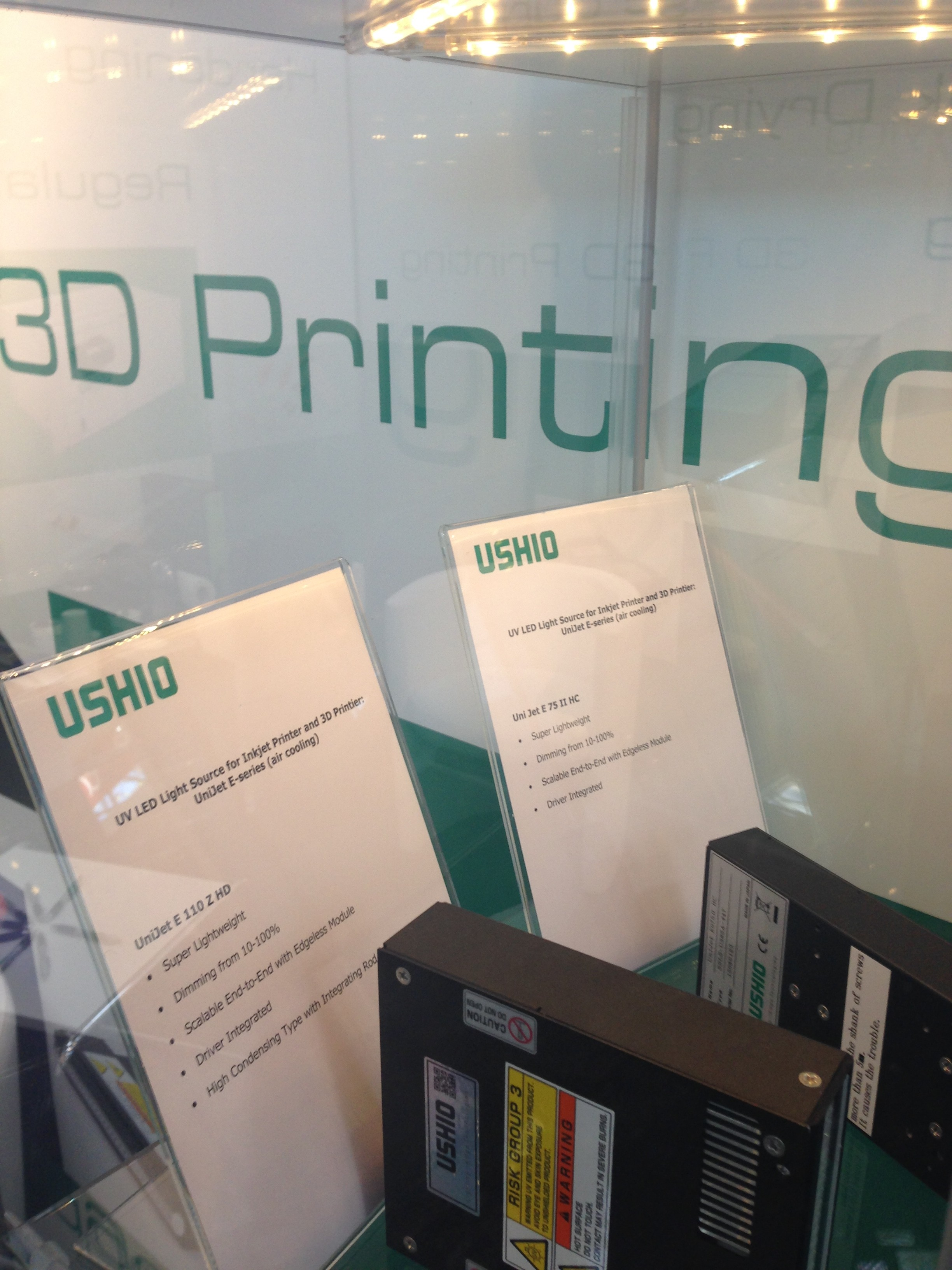USHIO´s UniJet UV LED curing systems