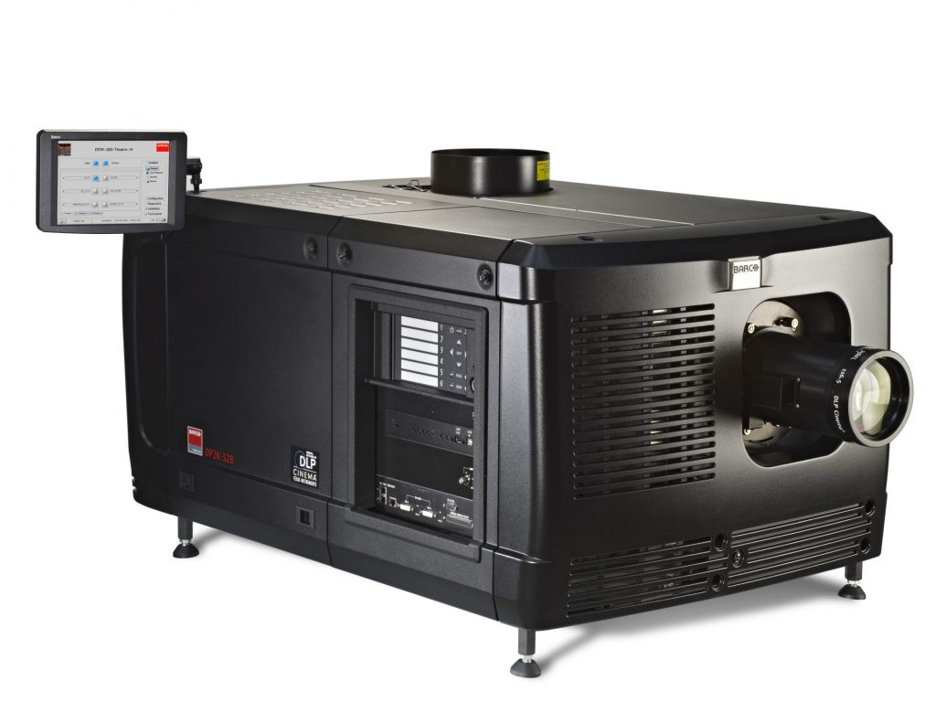 Barco DP2K-32B projector became the world's brightest projector using an Ushio lamp