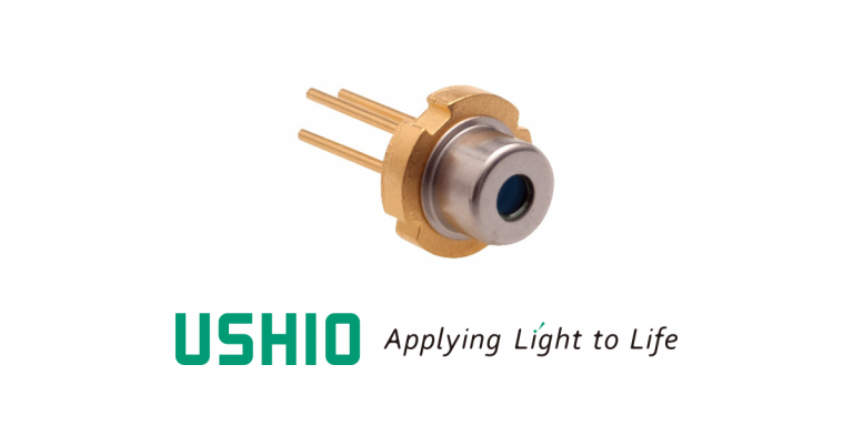 Ushio has begun the mass production of HL67191MG and HL67192MG, offering two new laser diodes (LDs) for operation at the 670nm wavelength.