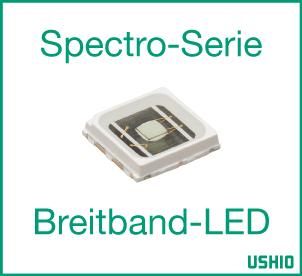 Ushio Epitex Spectro-Breitband-LED-Serie
