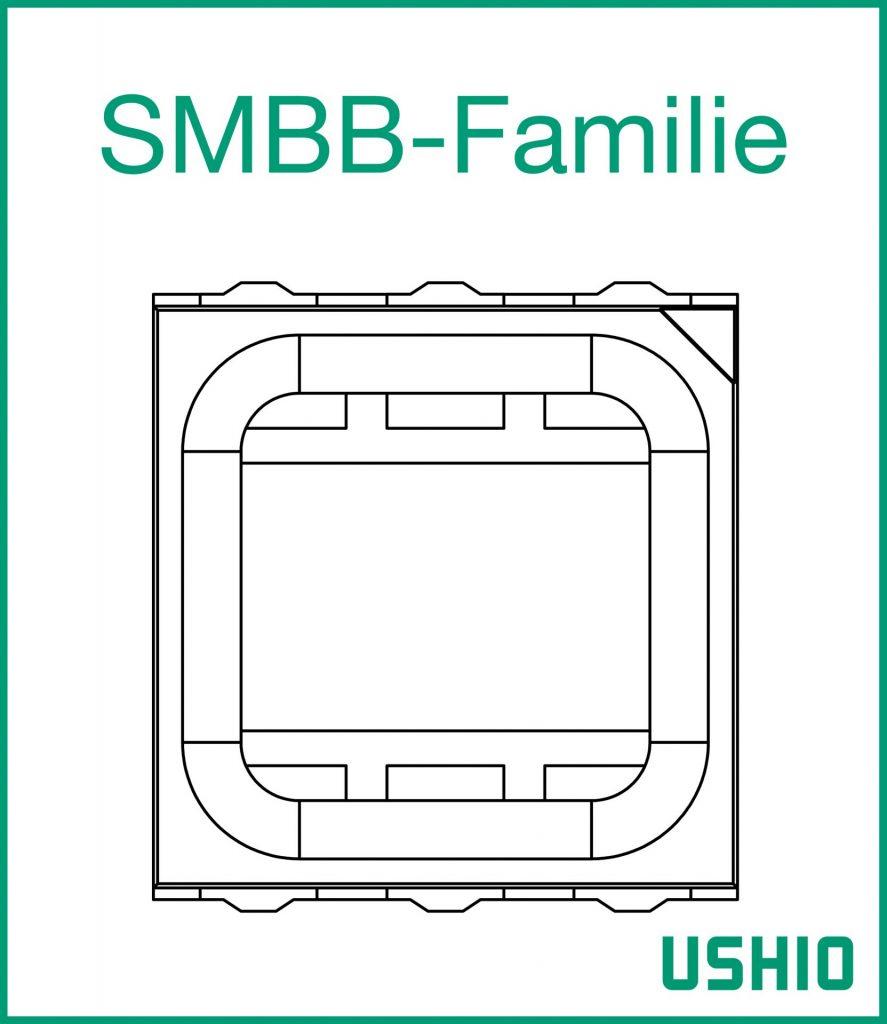 Ushio Epitex SMBB-Familie LEDs