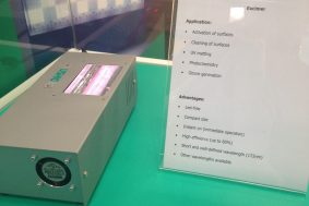 USHIO´s UniJet UV LED curing systems a great success at this year InPrint in Munich, Germany (1)