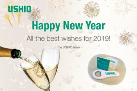 USHIO New Year wishes